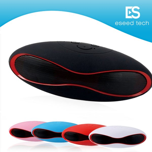 X6 Mini Wireless Bluetooth Speakers which shape in Rugby Handsfree Portable MP3 Player Subwoofer Stereo Sound Speaker