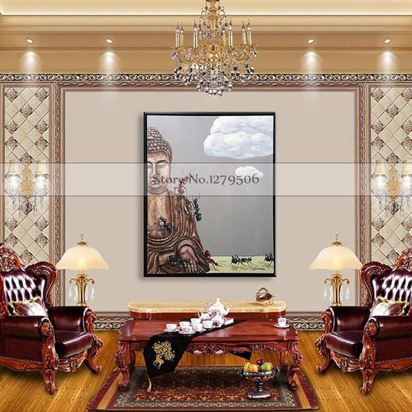 Декор стен холст современная картина маслом на холсте абстракция Cuardros decoracion Будда поп-арт дешевые современные картины