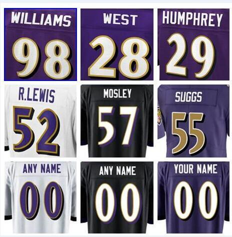 buy online ba12d df339 2019 Baltimore Joe Flacco Ravens Jersey Justin Tucker Terrell Suggs Eric  Weddle CJ Mosley Custom Jeremy Maclin American Football Jerseys 4xl Kits  From ...