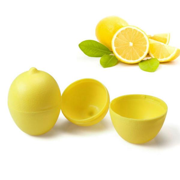 1 pz Nuovo Riutilizzabile Scatola di Conservazione Fresca Limone Lime Saver Contenitore di Plastica Holder Lampadina A Forma di Moist Assortiti per Cucina Frigorifero