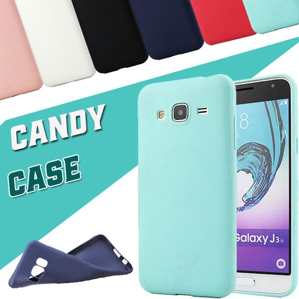 Candy Color Matte Frosted Soft TPU Silicone Rubber Shockproof Cover Case For Samsung Galaxy C10 Plus C9 C8 C7 C5 Pro J2 J3 J4 J5 J6 J7 Prime