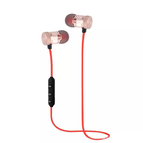 Wireless Bluetooth headphones Sports Running Magnetic earphones Earset With Mic MP3 Earbud BT 4.1 Nice