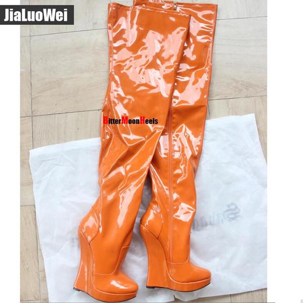 Orange shiny