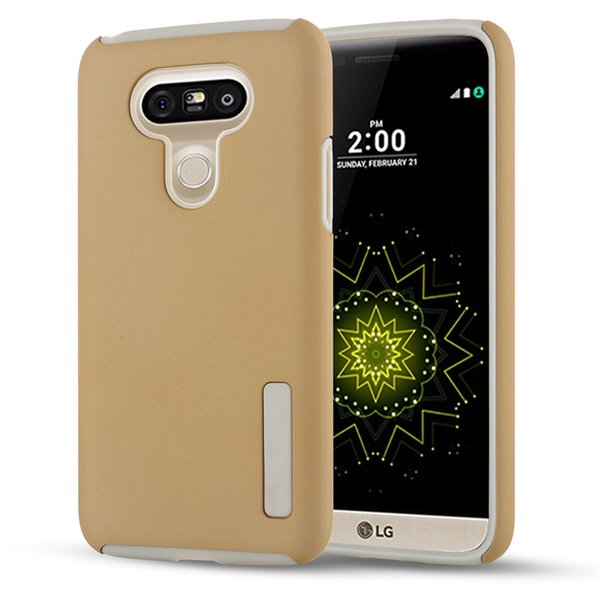 For LG G6 G5 G4 G4Mini G3 Armor Hybrid Defender Case TPU+PC Shockproof Dual Layer Cover Case 100PCS