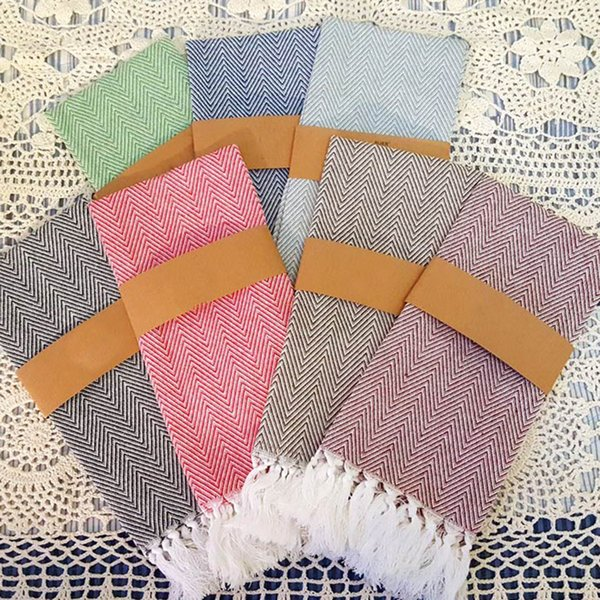 best selling New Arrival knitted cotton tassel napkin home kitchen tea towels table placemats dishcloth 100% Cotton 40*60cm