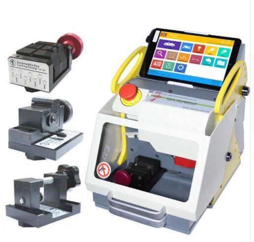 2019 New Screen 8.3 Inch automatic key cutting machine SEC-E9 portable smart duplicate car key cutting machine SEC E9 Multi-Language