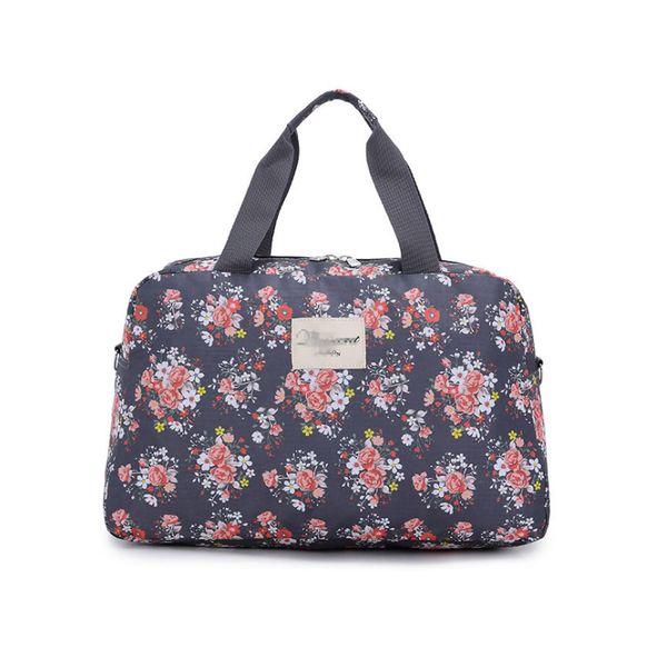 2018 Women Fashion Oxford Traveling Shoulder Bag Large Capacity Travel Bag Hand Luggage Flower design Travel Duffle Bags