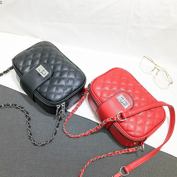 Ladies Hand Bags Famous Brand Bags Simple Casual Handbags Women Fashion Black Pu Leather Pochette Shoulder Bag Women Totes