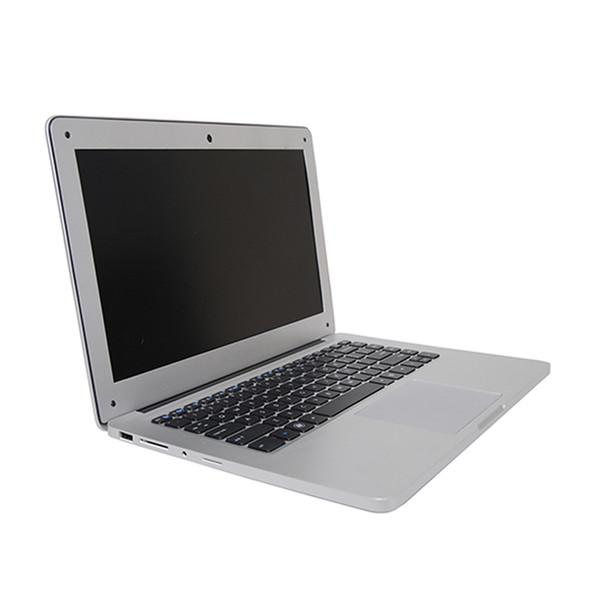 13.3 inch Ultra Slim Laptop CPU Quad-core J1900 4GB RAM 500GB HDD Windows 7/10 Laptop Notebook Computer Russia free shipping