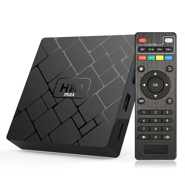HK1 MAX Android 8 1 TV BOX RK3328 64 Bit 4GB 32GB Quad Core Support Wifi  LAN Smart Media Player Top Box Tv Tv Box Player From Gaoxincompany,  &Price
