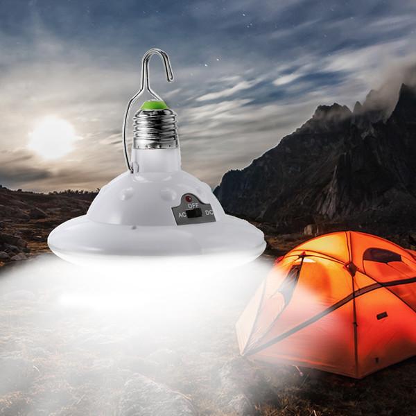 Güneş Işık Açık Bahçe Sel Işık 22 LEDs Yard Yürüyüş Çadır Kamp Asılı Uzaktan Kumanda Su Geçirmez Acil Lamba Ücretsiz Kargo