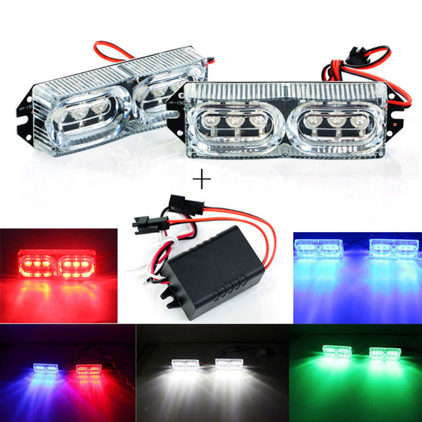 High Power 2Pcs DRL Motorcycle LED Tail Light Daytime Running Lights 12V Car Light Warning Lamp with Controller