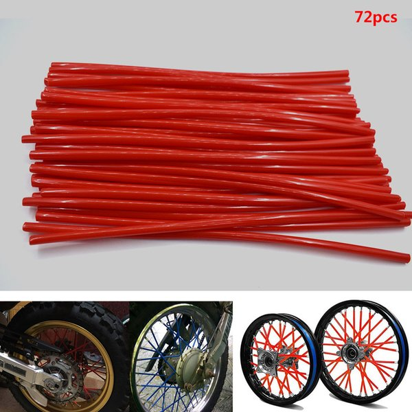 For Motorcycle Dirt Pit Bike Wheel Skin Cover Wrap Tube Decoration Protector for KTM SX EXC MXC 250 300 400 450 520 525