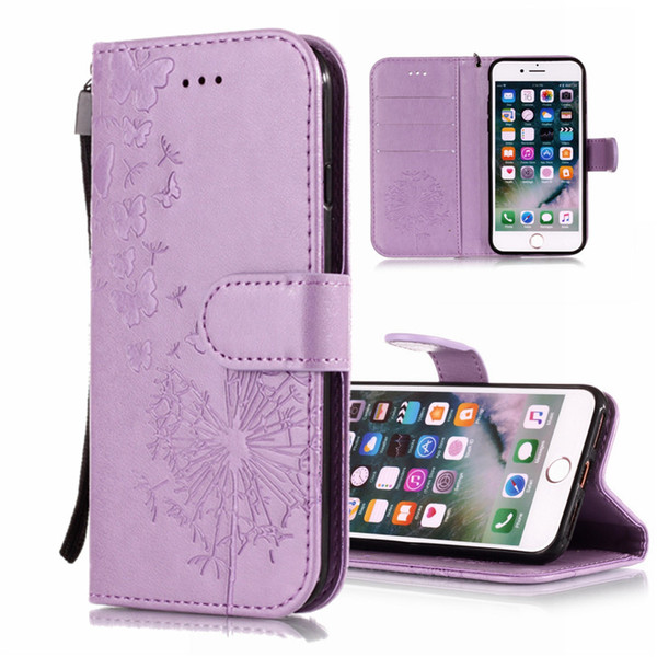 Flower Butterfly Case Skin For Samsung Galaxy J3 J310 J5 J510 J7 J710 2016 A3 A5 J3 Prime 2017 PU Leather Stand Wallet with Card Slots Cover