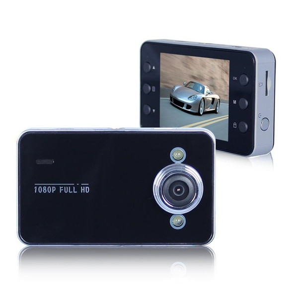 Car DVR 2.4 Inch K6000 Full HD Dash Cam Dashcam LED Night Recorder CAMCORDER PZ910 Parking Monitoring Detection One Key Lock 2PCS