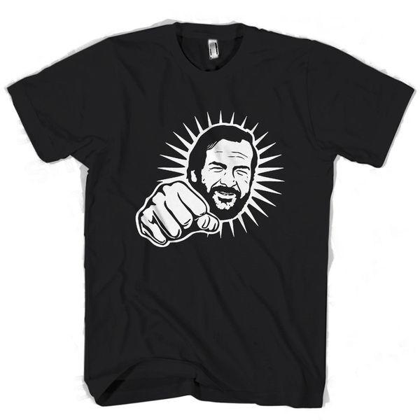 Bud Spencer Punch Light Men's / Women's T Shirt Men'S High Quality Custom Printed Tops Hipster Tees