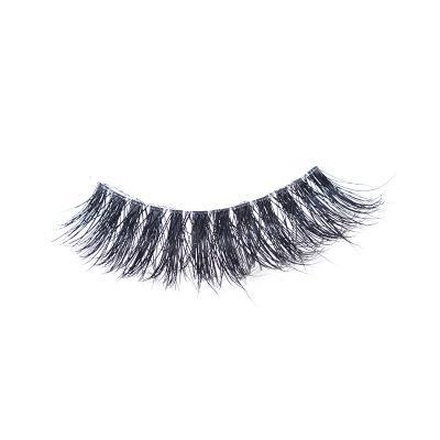 Mink Eyelashes Clear Band EyeLashes Crisscross Transparent Band False Eyelashes Handmade Dramatic Lashes Upper Lash