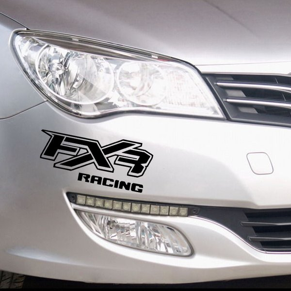 fxr racing STICKERS decal car , windows, bumper and other Cool Graphics interesting fashion