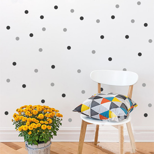 Polka Dots Wall Decal Removable 140 Small Polka Dots Diy Nursery Kids Wall Art Decoration Baby Kids Room Home Decor 1 Inch Self Adhesive Wall Stickers