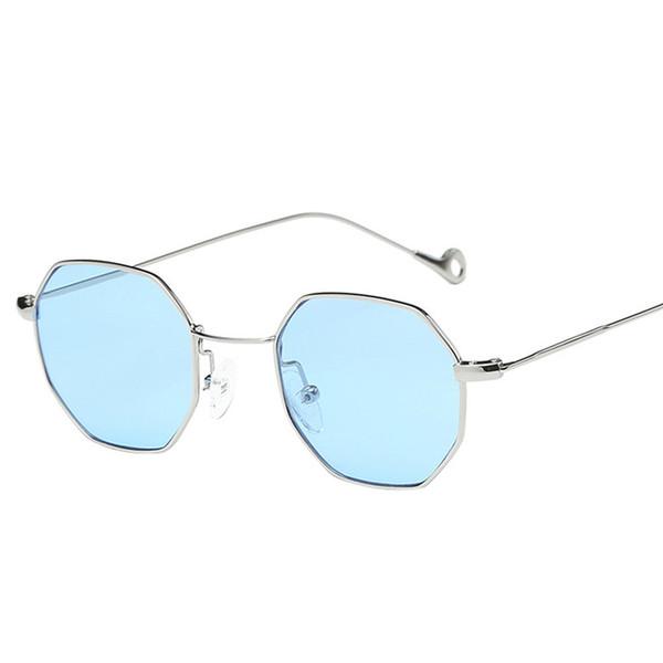fe90f2cdec New Classic Vintage Sunglasses Geometry Design Metal Frame Sun Glasses  Simple Women Men Glasses Cycling Eyewear  2A19