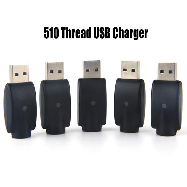 510 Thread Cargador USB para CE3 O-Pen Batería Adaptador inalámbrico Cigarrillos electrónicos USB Vape Cargador Adaptador eGo Cargador eGo-T Battery