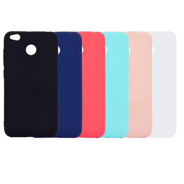 Candy Farbe Fall Für Xiaomi Redmi 4X Abdeckung Weiche TPU Ultradünne Designer Mobie Phone Cases Capinha Für Redmi 4X