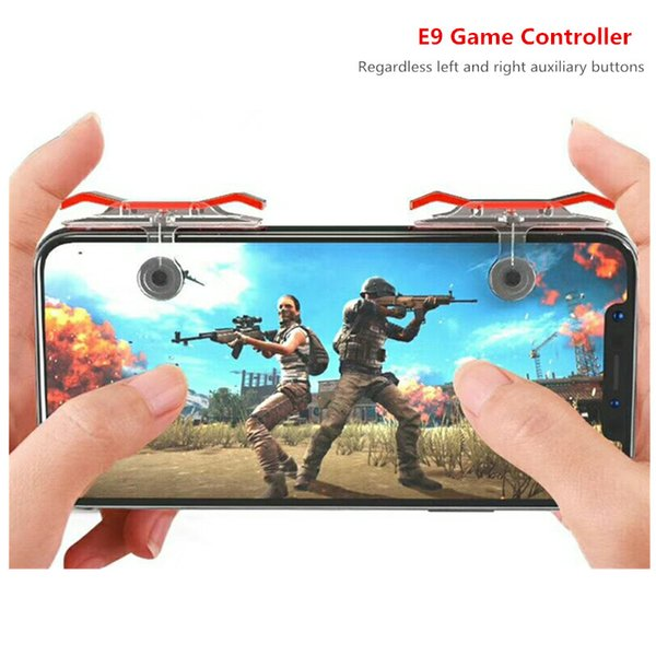 Handy-Gamecontroller E9 Gamepad Shooter-Taste Für Smartphone Für Messer Essen Hühnerspiele