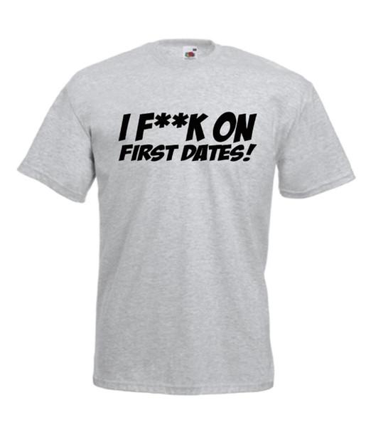 Acquista Divertente Prima Data Scherzo Divertente Tee Xmas Idee Regalo Di Compleanno Da Uomo Donna T Shirt Top A 12 08 Dal Amesion65 Dhgate Com