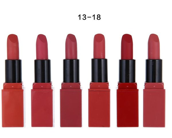2019 top Brand Beauty Longlasting Comfortable matte lipstick 24 different color Great Holiday gift Christmas DHL free shipping