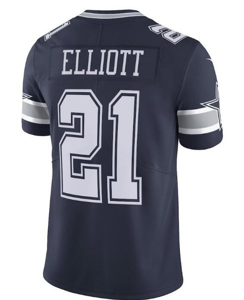 030de8e89 Dak Prescott jersey Ezekiel Elliott Dallas Jason Witten Cowboys Sean Lee  Roger Staubach Custom american football