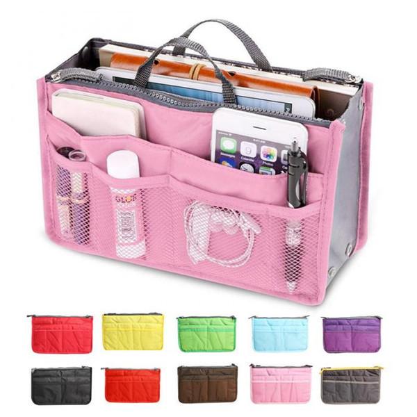 حقيبة أزياء نسائية جديدة في حقائب مستحضرات التجميل التخزين المنظم ماكياج حقيبة السفر عارضة حقيبة جذع زيبر حالات التجميل