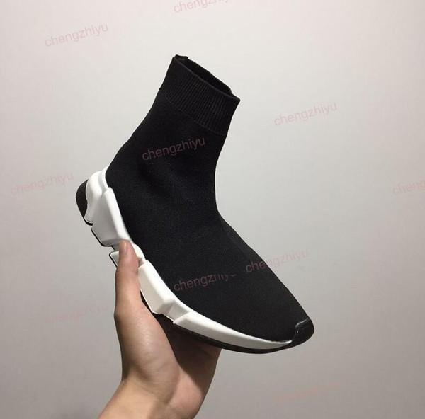 2018 frist kalite Hız çorap erkekler ve kadınlar için yüksek kaliteli Hız Eğitmen koşucu ayakkabı spor ayakkabı Hız streç-örme Orta sneakers, 5-11