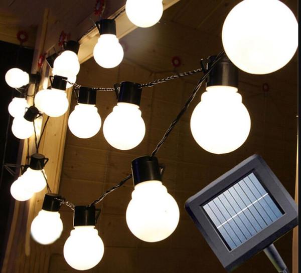 20led 5M Solaire conduit lumière lumière extérieure décorative fée éclairage pour les arbres de Noël, Patio.Party