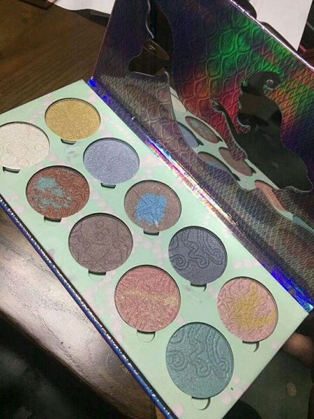 Long-lasting Premium Bittee lace Beauty Eye Shadow Palette 10 colors highlighter palette DHL Free makeup
