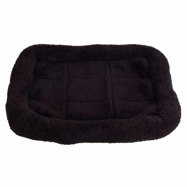 Siyah Rahat Pet Köpek Yatak Uyku Sıcak Köpekler Için Teddy Kedi Köpek Kanepe Ev Mat Battaniye Yastık Köpek Malzemeleri