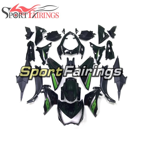 New Arrival Injection Green Black Full Fairing Kit For Kawasaki Z800 2013 2014 Z800 2015 2016 ABS Plastic Bodywork Motorcycle Body Frames