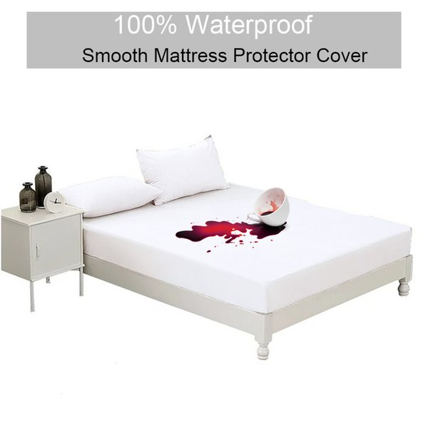 Incredible 72X132Cm Single Bed Smooth Waterproof Mattress Cover White Sofa Bed Pad Sheet With Elasticity Suitable For Baby Breathable Wholesale Cute Bedspreads Inzonedesignstudio Interior Chair Design Inzonedesignstudiocom