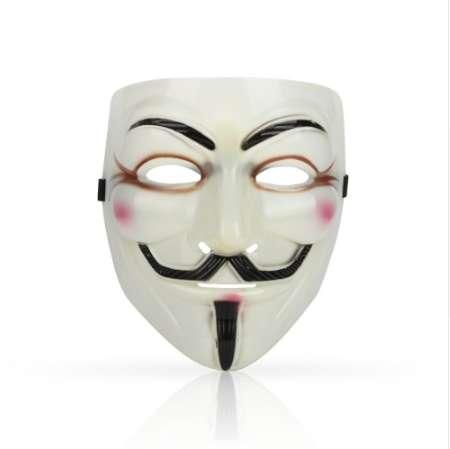 1PCS Hot Selling Party Masks V for Vendetta Mask Anonymous Guy Fawkes Fancy Dress Adult Costume Accessory Party Cosplay Masks