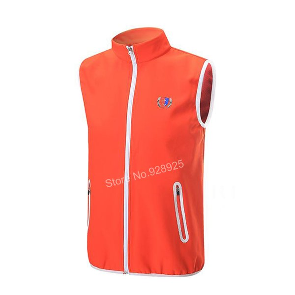 Golf vest golf apparel jackets for men waistcoat windbreaker Vest windproof sportswear clothes