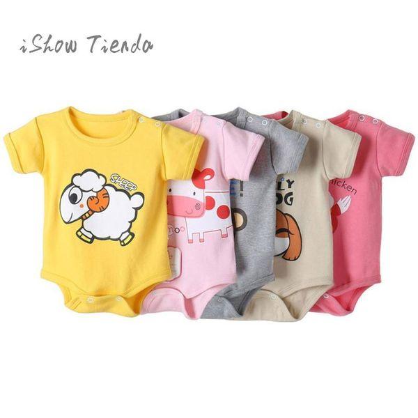 Baby costumes overalls for kids Infant clothing Cartoon Print Jumpsuit baby romper summer boys' sliders body newborn onesie