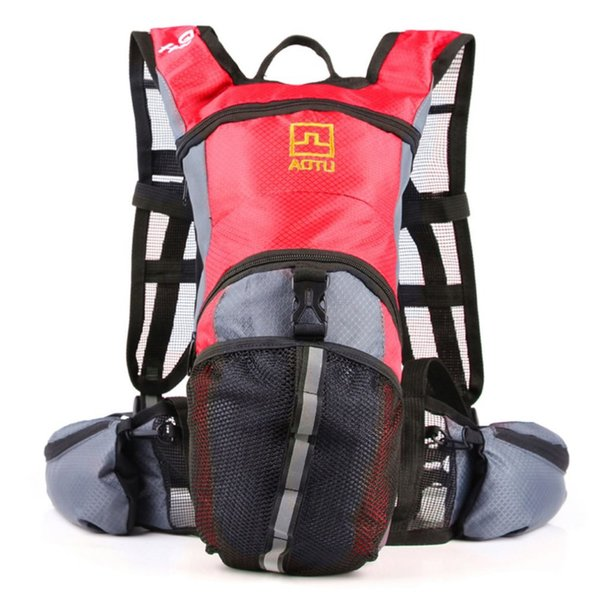 13L Outdoor Cycling Backpack Waterproof Nylon Large Capacity Hiking Travel Bag Mountain Climbing Rucksack with Waist Belt NEW