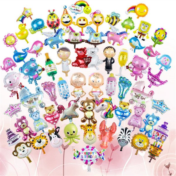 Netter 16-Zoll-Ballon Lionmonkeyzebradeercowelephant Einhorn-Kopf-Folien-Ballon-Tierluftthema-Geburtstagsfeier Weihnachten Weihnachten scherzt Spielwaren