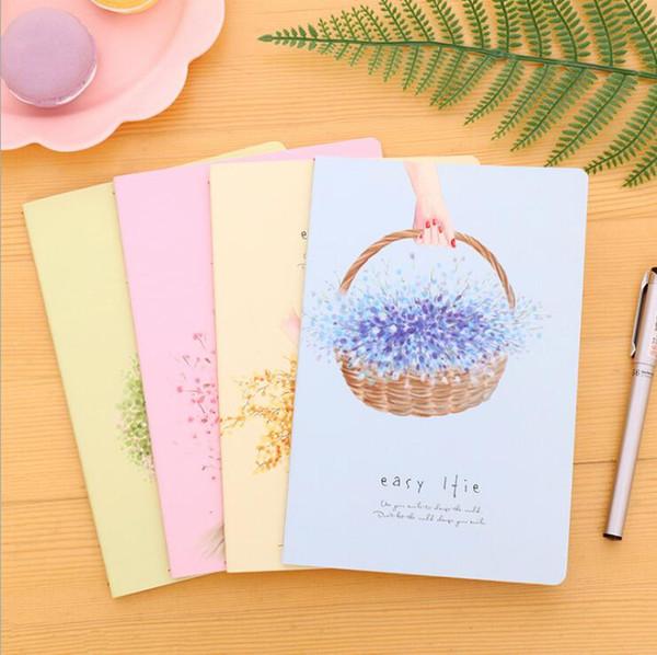 SENMU 4pcs/lot cute japanese Stationery A5 Notebook 30 sheets Notepad soft copybook Story diary school supplies