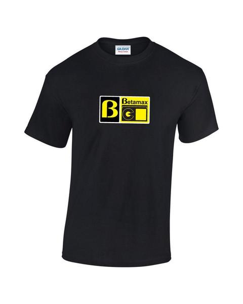 Betamax Retro Computer Video Gaming T-Shirt