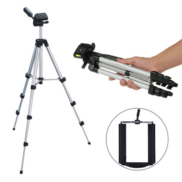 Professional Aluminum Tripod Monopod for Nikon D7000 D3100 Canon Digital Camera Holder Mount for Dslr Camera Mobile Phone Stand