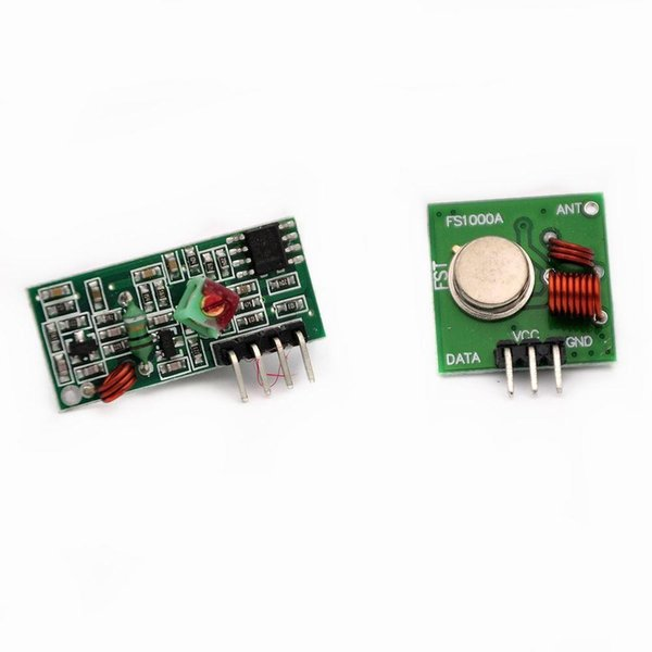 86077 1Lot= 5pair (10pcs) 433Mhz RF transmitter and receiver Module link kit ARM/MCU WL diy 433mhz wireless Hot sale