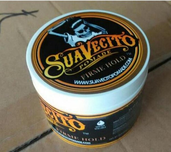 best selling Suavecito Pomade Hair Gel Style firme hold Pomades Waxes Strong hold restoring ancient ways big skeleton hair slicked back hair oil wax dhl