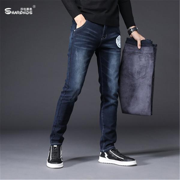 Compre Moda Para Hombre Pantalones Termicos Pantalones Vaqueros - Moda-para-hombres-maduros