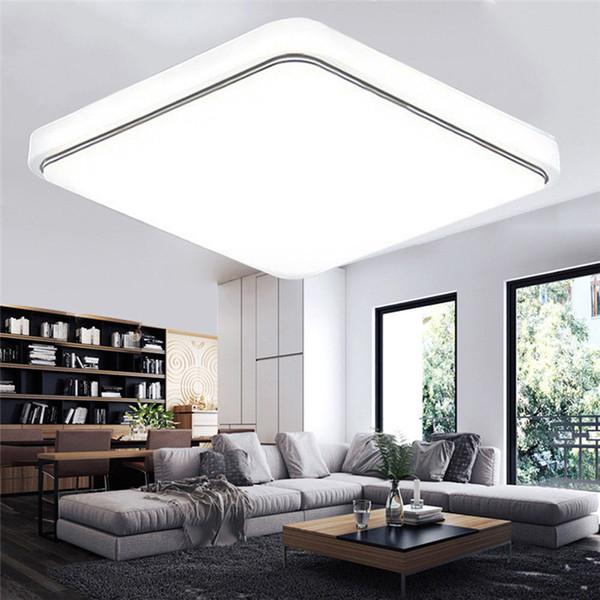 Großhandel 24W LED Panel Licht 30 * 30 Cm Montiert AC85 265V Indoor Ceiling  Lampe Morden Einfachen Stil Wohnzimmer Schlafzimmer Dekor Von Callaway, ...