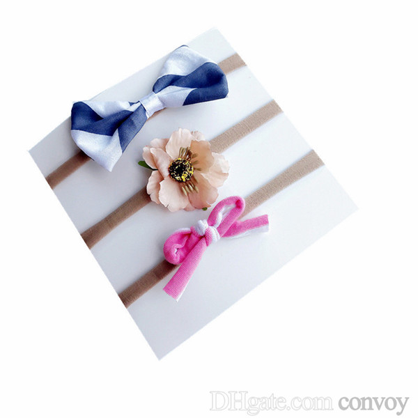 3pcs//lot Kids Baby Girls Children Toddler Flowers Hair Clip Bow Accessorie TECU
